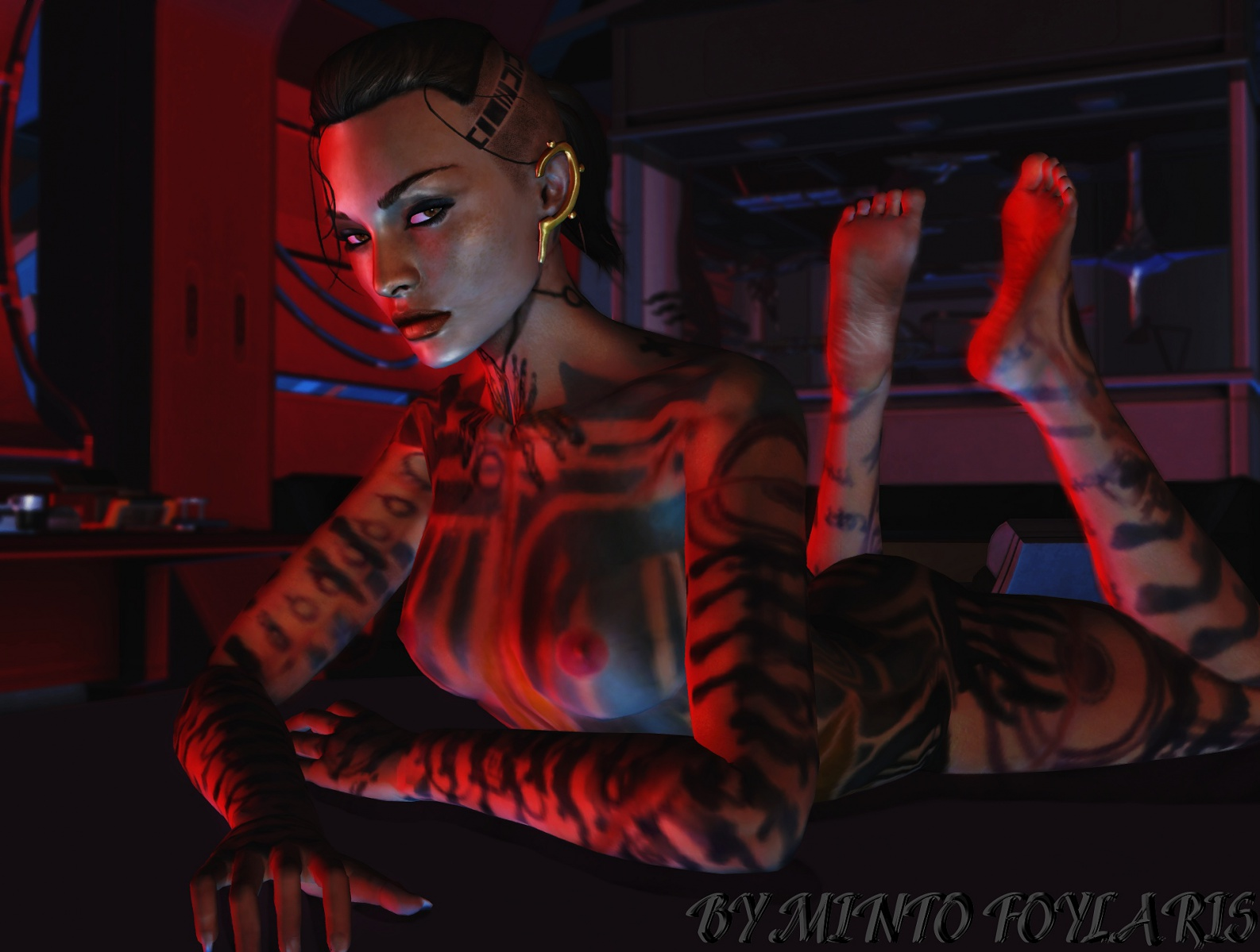 Erotic pics of jack mass effect porn video