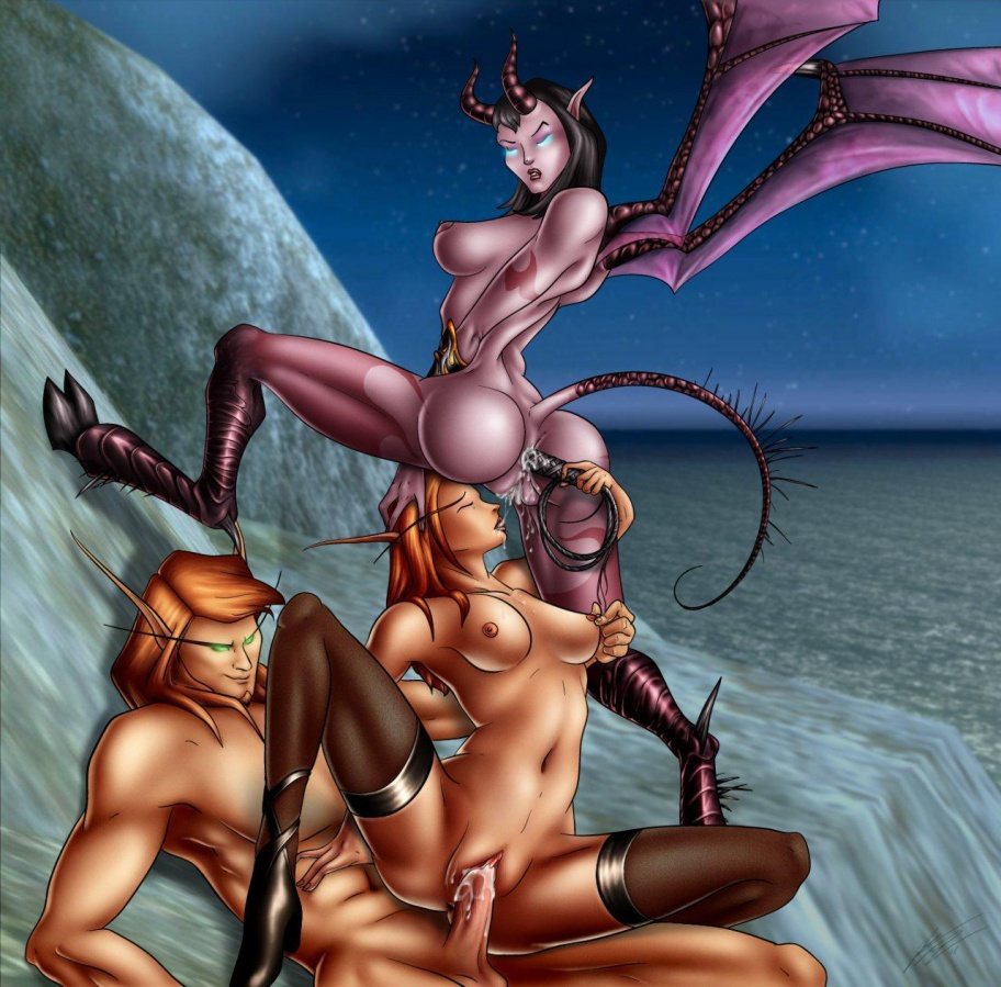 Wow succubus hentai porn videos sexy download